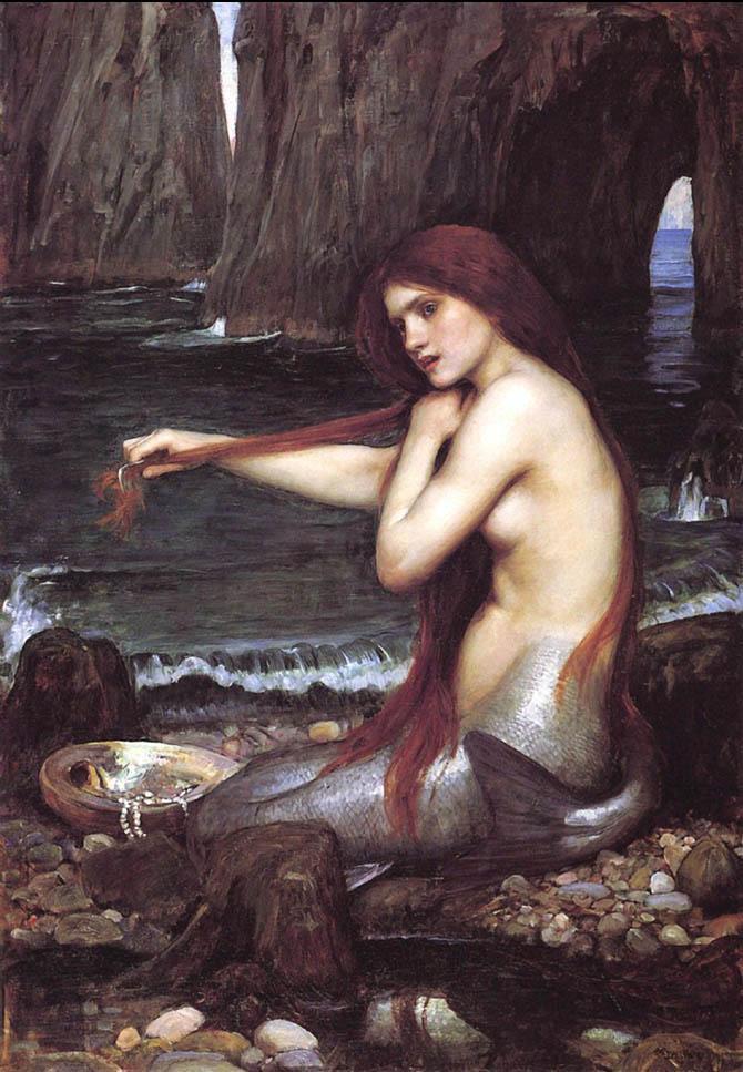 John_William_Waterhouse_-_Mermaid